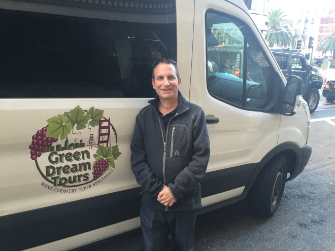 Mark with Green Dream Tours in San Francisco.JPG