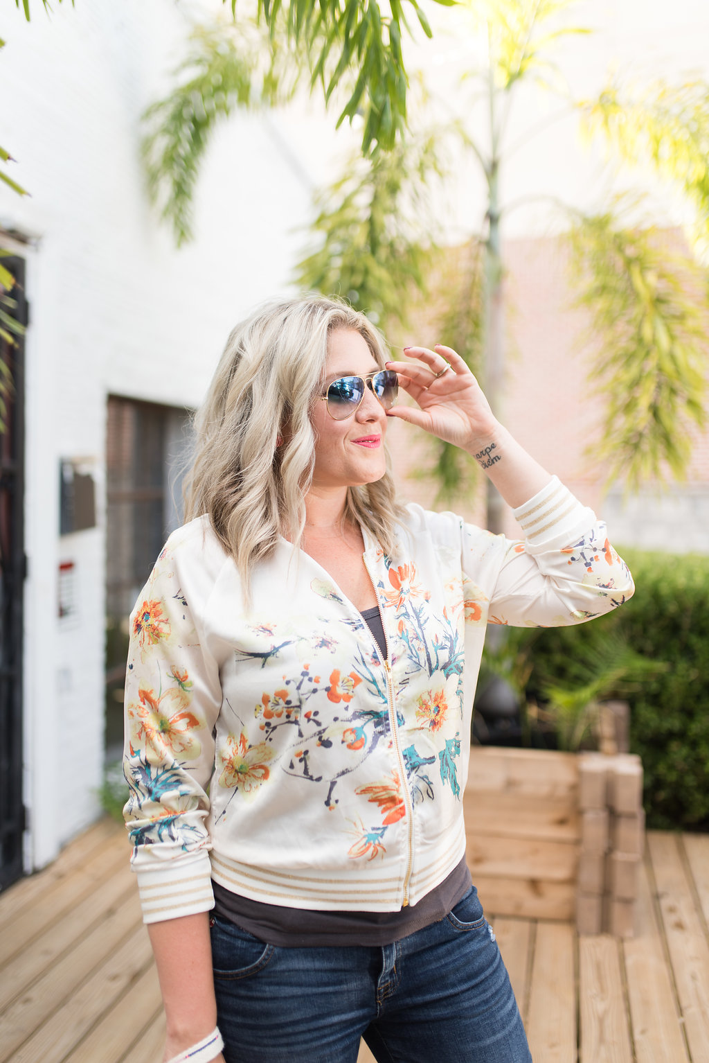 A Fun Summer Jacket & Quirky Boutique