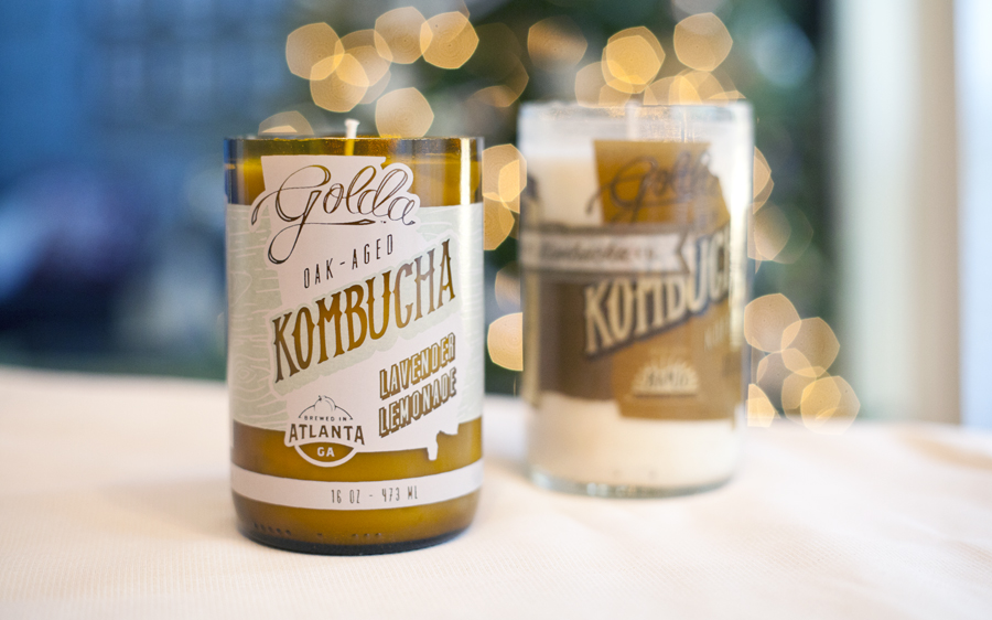 DIY candles, love fancy pants, golda kombucha, diy gifts, christmas gifts unique, diy holiday gifts, soy candles,