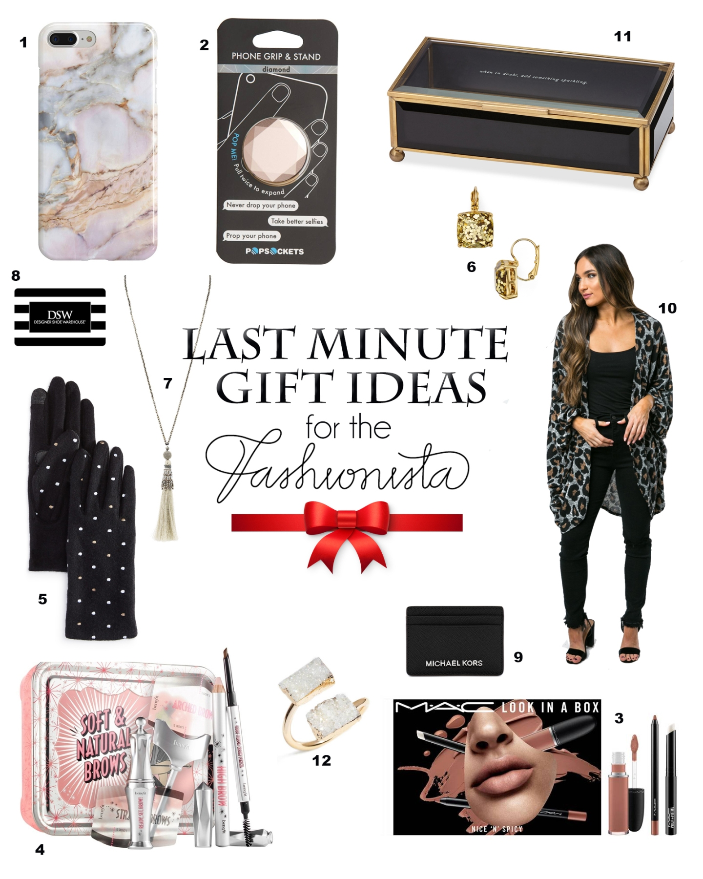 gift ideas under $50 for the fashionista